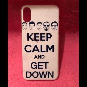 Backstreet Boys iPhone X/XS Case